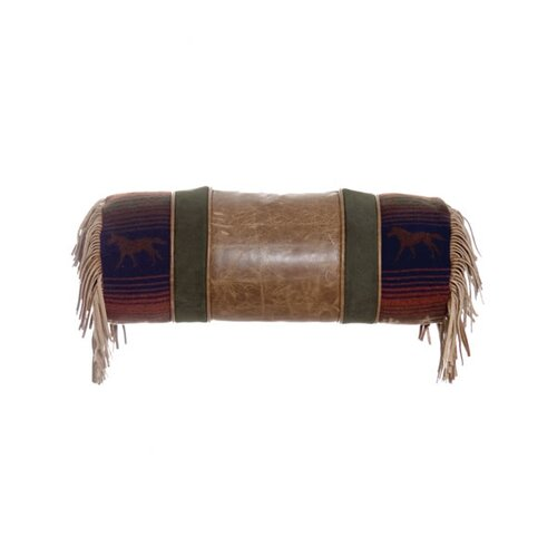 Wooded River Mustang Canyon Neckroll Pillow