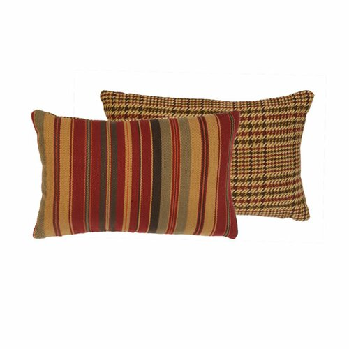 Wooded River Bandera Pillow