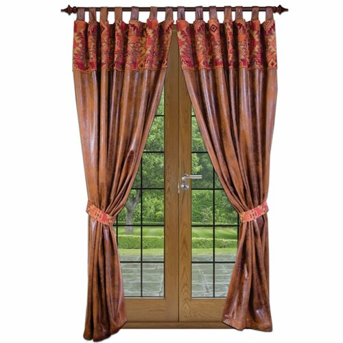 Wooded River Bessie Gulch Tab Top Drape Panel
