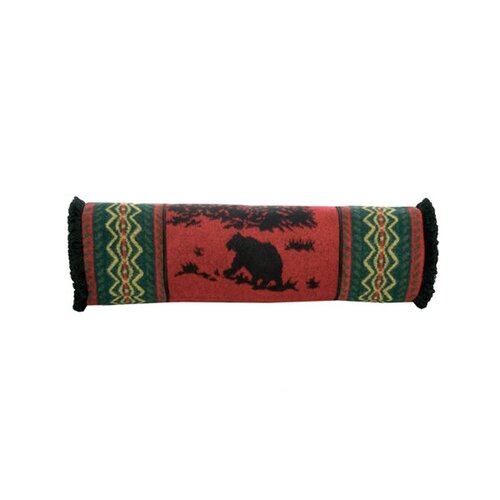 Wooded River Bear Neckroll Pillow