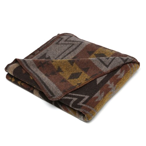 Wooded River Winnipeg Throw