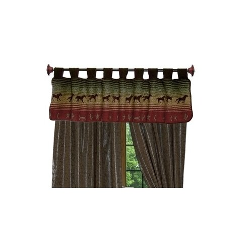 "Wooded River Mustang Canyon 60"" Curtain Valance"