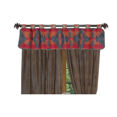 "Wooded River Socorro 60"" Curtain Valance"