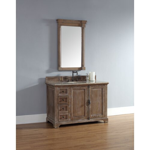 Providence 48 single cabinet vanity base wayfair for 48 inch bathroom vanity base