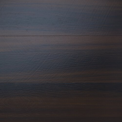 "Mats Inc. Floorworks Luxury 6"" x 36"" Vinyl Plank in Cherry Walnut"