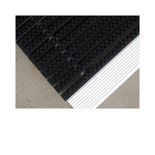 """Mats Inc. The Ultimate 48"""" x 36"""" Outdoor Bristle Mat in Black"""