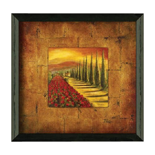 Timeless Frames Red Poppies II by Patricia Pinto Framed Painting Print