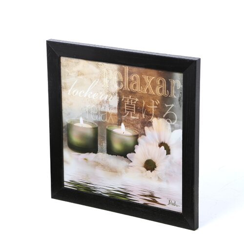 Timeless Frames Relaxation I by Patricia Pinto Framed Graphic Art