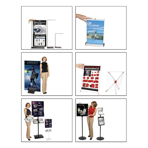 Exhibitor's Hand Book 2 Pocket Observe Grand Heavy Duty Pedestrian Info Center
