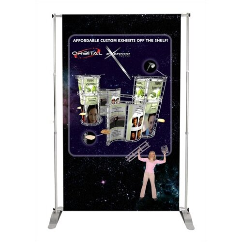 Exhibitor's Hand Book Two Way Telescopic Pegasus Banner Stand