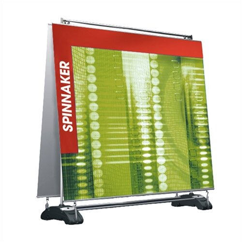 Exhibitor's Hand Book Spinnaker Double Sided Billboard