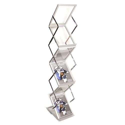 Exhibitor's Hand Book 6 Pocket ZedUp Lite Collapsible Rack