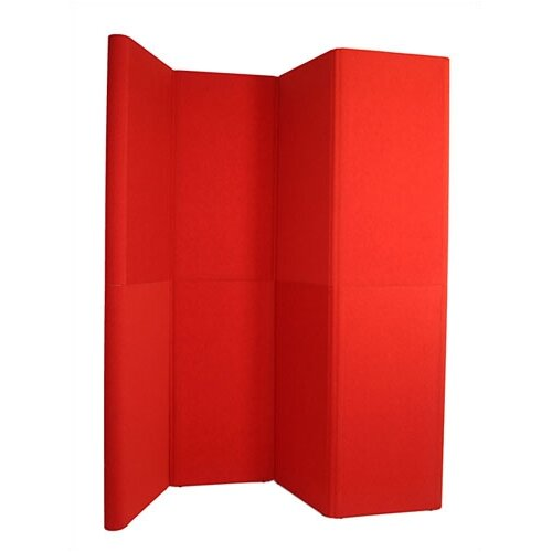 Exhibitor's Hand Book Hero H11 Full Height Exhibit Panel with Curved Edges