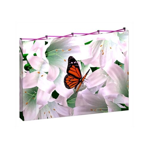 Exhibitor's Hand Book Full Height HopUP Portable Display Frame