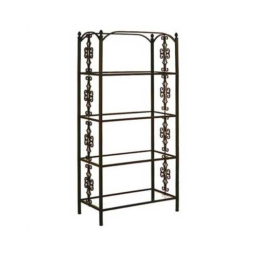 "Grace Collection 79"" H Gothic Gate Etagere"