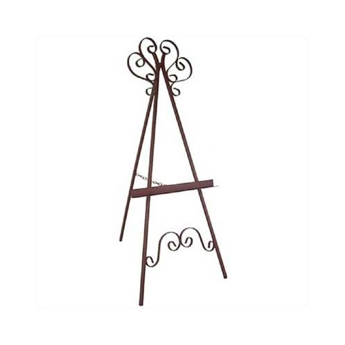 Grace Collection Marseilles Wrought Iron Easel