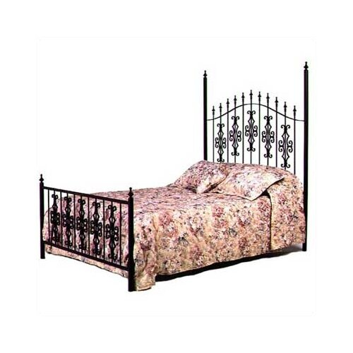 Grace Gothic Wrought Iron Bed Amp Reviews Wayfair