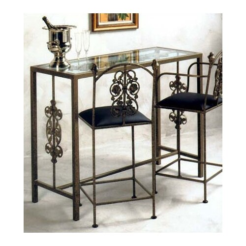 Grace Collection Garden Counter Height Dining Table