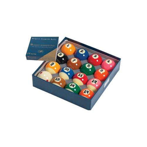 Aramith Billiard Balls - Super Aramith Pro TV