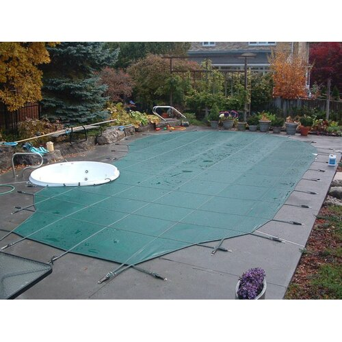Yard Guard Standard Mesh Rectangular Pool Cover