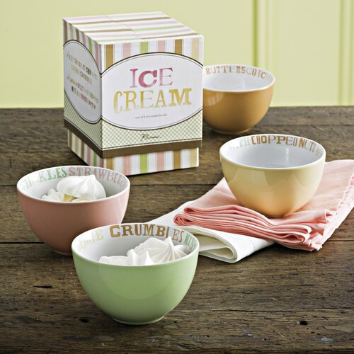 Rosanna 13 oz. Ice Cream Bowl