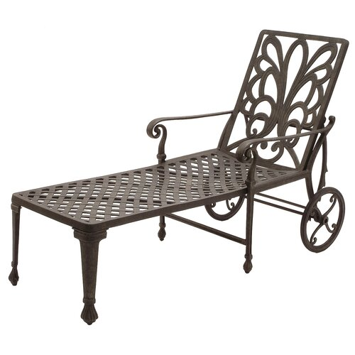 Windsor Wheel Chaise Lounge