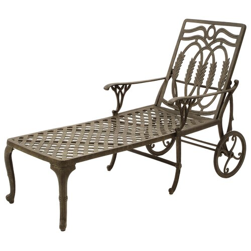 Suncoast Olympia Wheel Chaise Lounge