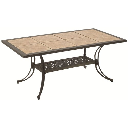 Suncoast Drop In Tile Cocktail Table