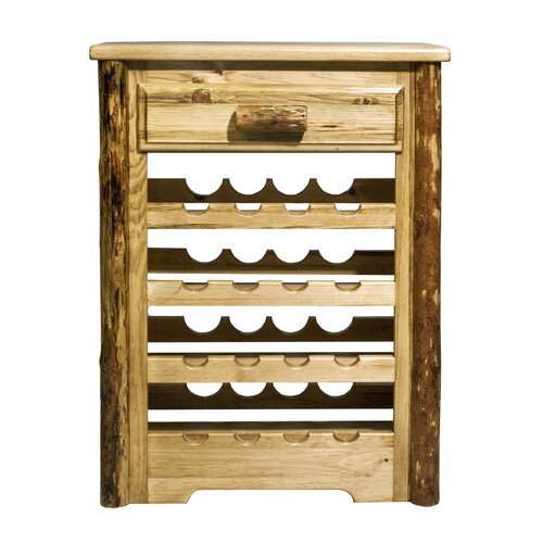 Montana Woodworks® Glacier Country 16 Bottle Wine Rack