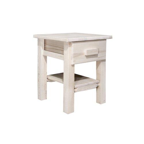 Montana Woodworks® Homestead 1 Drawer Nightstand