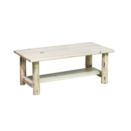 Montana Woodworks® Coffee Table with Shelf