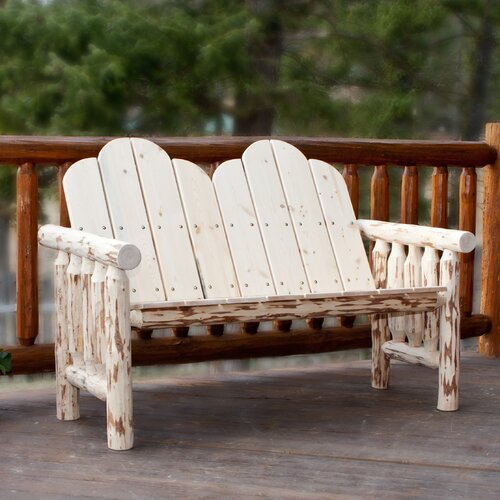 Montana Woodworks® Montana Deck Wood Garden Bench