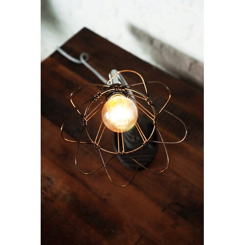 """District Eight Design Flexible 12"""" H Table Lamp"""