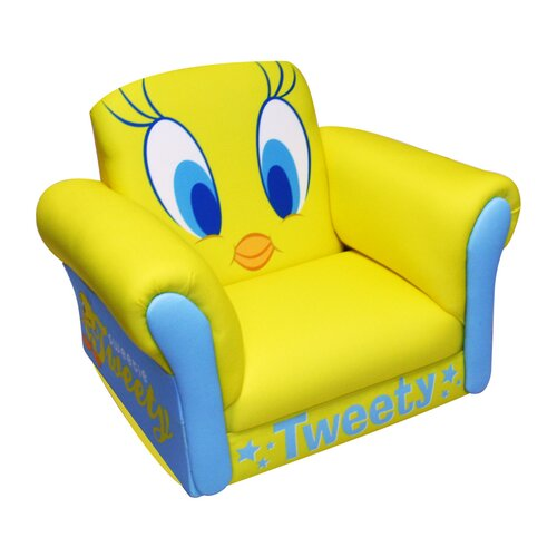 Warner Brothers Tweety Deluxe Kid's Rocking Chair