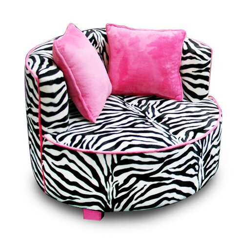 Magical Harmony Redondo Minky Kid's Club Chair