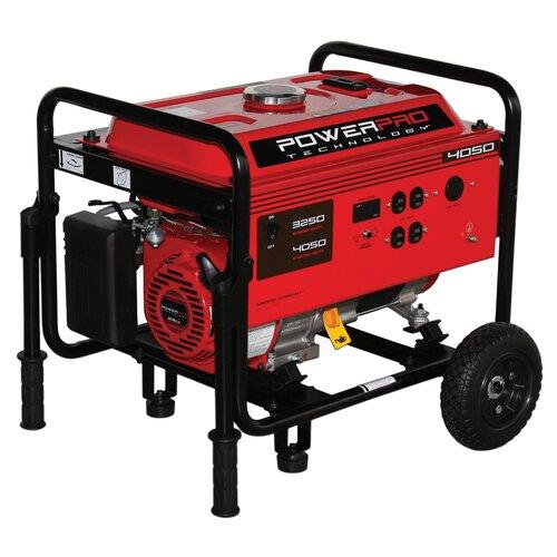 PowerPro Technologies 3,250 Watt Portable Generator with Wheel Kit