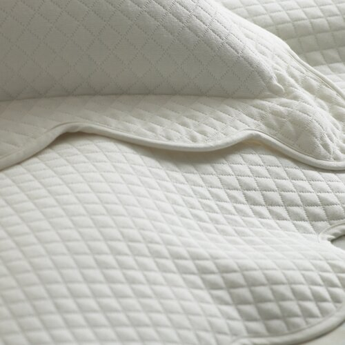 Oxford Scalloped Hem Boudoir Pillow