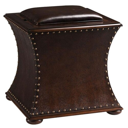 Capetown Gaming Leather Accent Stool