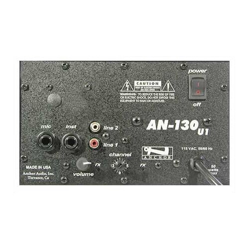 Anchor Audio AN-130 Basic Package Speaker