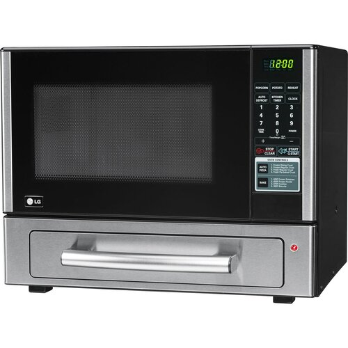 Countertop Oven And Microwave : LG 1.1 Cu. Ft. 1000W Countertop Microwave and Pizza Oven Combo ...