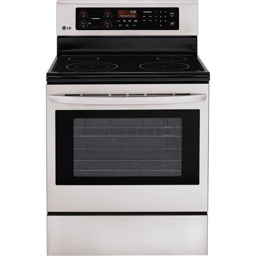 6.3 cu. Ft. Electric Free-Standing Range