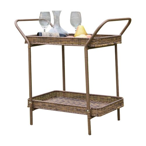 Wicker Lane Serving Cart II