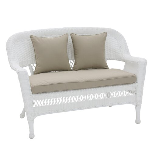Wicker Lane Wicker Patio Loveseat