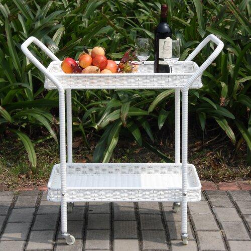 Wicker Lane Serving Cart