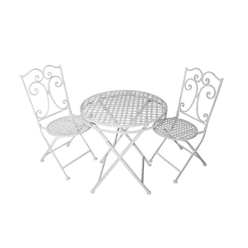 JJ International Camilla Series 3 Piece Bistro Set