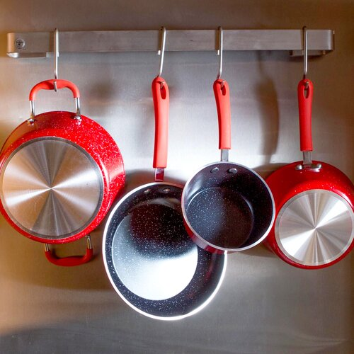 Gourmet Chef Nonstick Ceramic 8-Piece Cookware Set