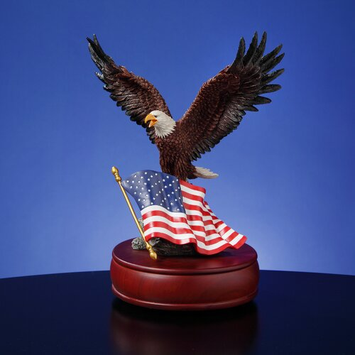 San Francisco Music Box American Eagle Figurine
