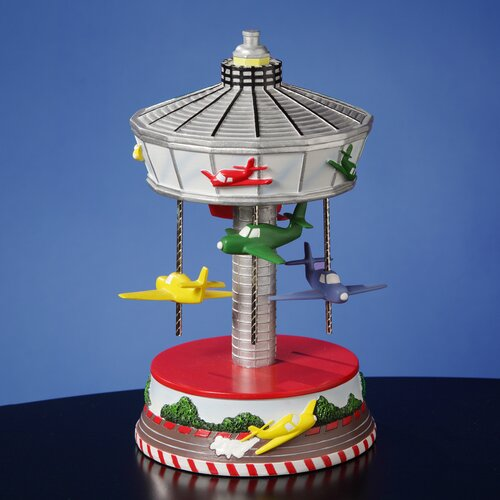 Airplane Carousel Figurine