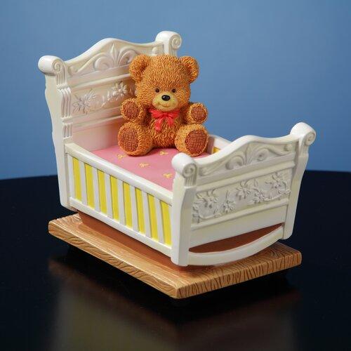 San Francisco Music Box Newborn Rock-a-Bye Baby Figurine