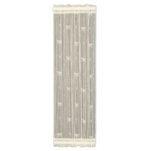 Heritage Lace Dragonfly Sidelight Single Curtain Panel Reviews Wayfair